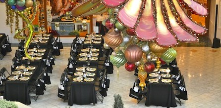 The Nutcracker Breakfast  Sunday, November 10, 2013  9:30am – 11:30am  at Williams-Sonoma storefront at The Gardens Mall