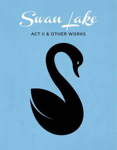 SWAN LAKE ACT II & OTHER WORKS – Oct. 24 & 25, 2015