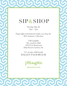 J.McLaughlin Sip and Shop