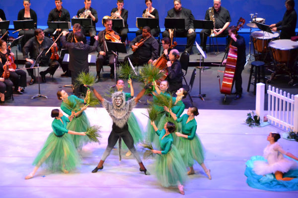 Ballet Palm Beach &  Palm Beach Symphony at Meyer Amphitheatre/WPB