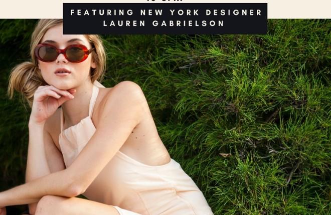 Sip & Shop Event! Meet clothing designer Laura Gabrielson and raise funds for Ballet Palm Beach