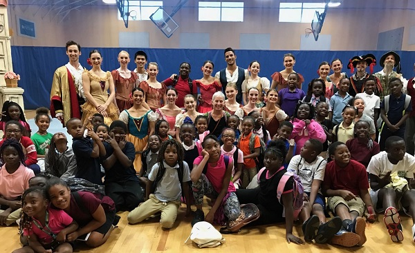 BALLET PALM BEACH Educates & Entertains 150+ Young People at Boys and Girls Clubs of  Palm Beach and Martin Counties
