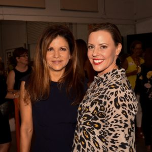 Adriana Acosta and Amy Swan