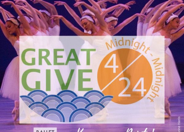 GREAT GIVE 2019- KEEP US EN POINTE!