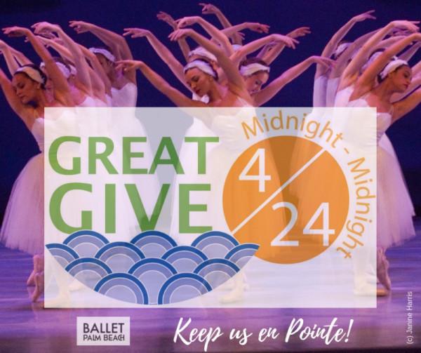 GREAT GIVE 2019- KEEP US EN POINTE!
