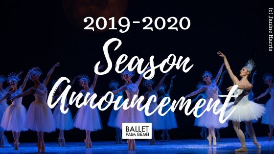 2019-2020 Season Announcement!