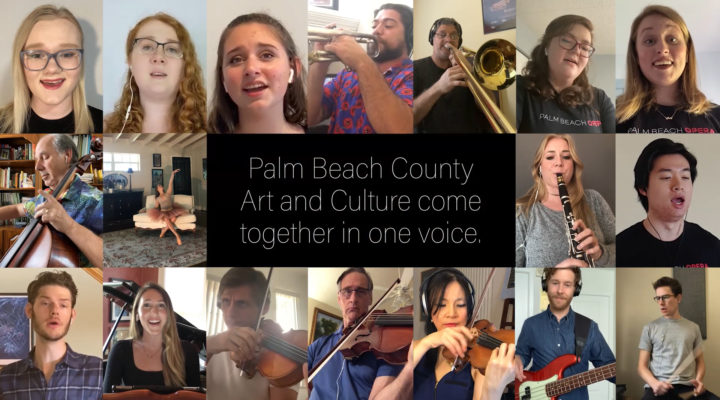 "Palm Beach County's Major Cultural Institutions Rise Up With ""One Voice"" to Connect Community"